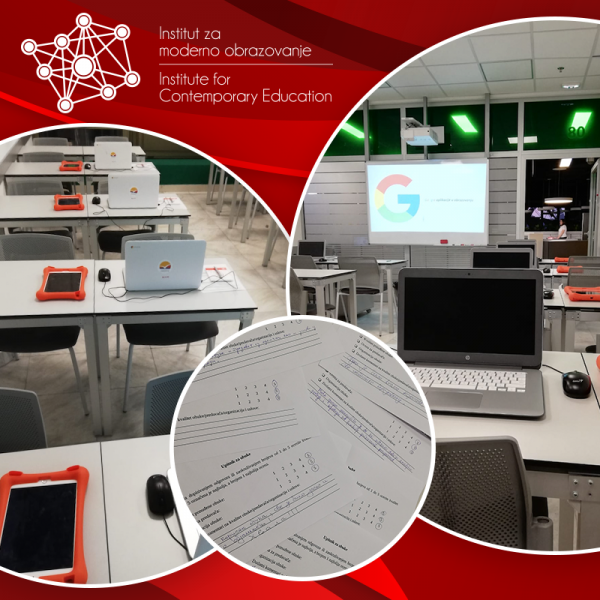 učionica sa laptopovima