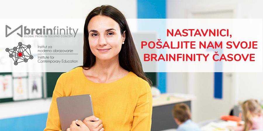 """Problem solving konkurs za nastavnike: """"Najbolji Brainfinity čas 2020"""""""